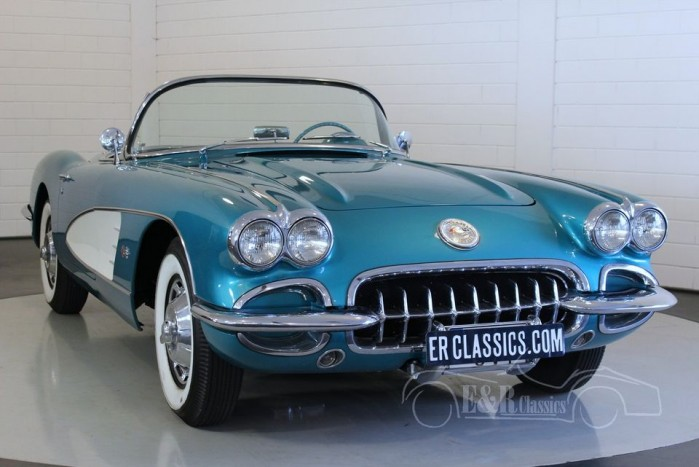 Chevrolet Corvette C1 1959 a vendre