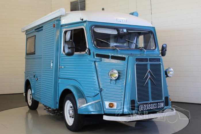citroen hy 78 camper 1973 vendre erclassics. Black Bedroom Furniture Sets. Home Design Ideas