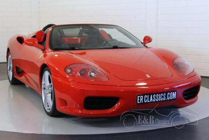 Ferrari 360 Spider F1 2002 a vendre
