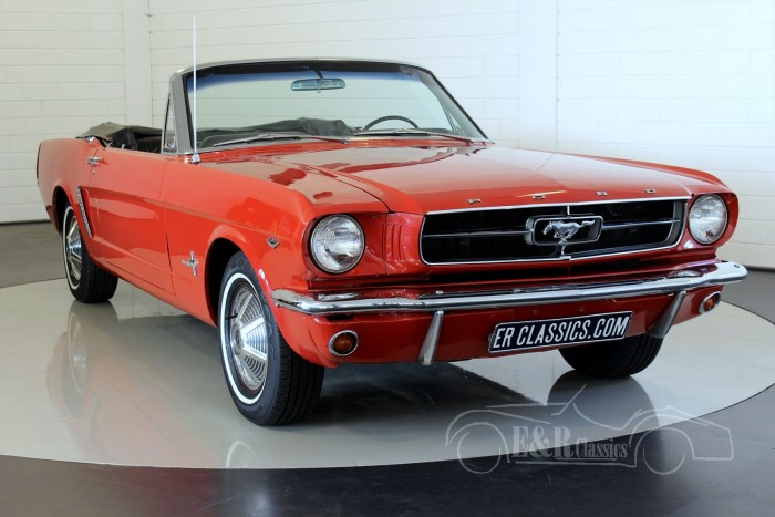 ford mustang v8 cabriolet 1965 vendre erclassics. Black Bedroom Furniture Sets. Home Design Ideas
