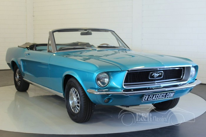 Ford Mustang V8 Convertible 1968 a vendre