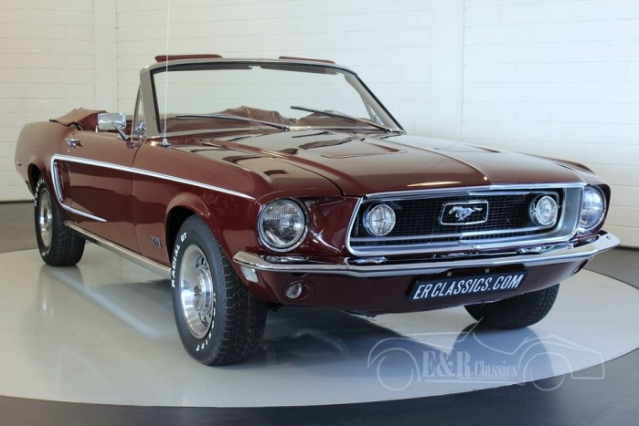 Ford Mustang GT cabriolet 1968 a vendre