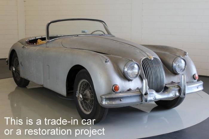 Jaguar XK150 OTS 1958  a vendre