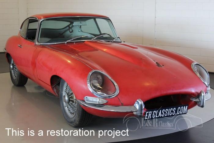 Jaguar E-type Series 1 Coupe 1962 a vendre