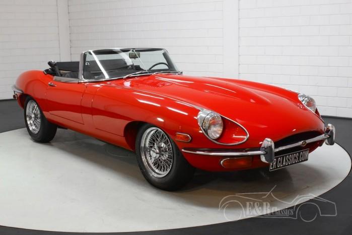 Jaguar E-Type S2 Cabriolet a vendre