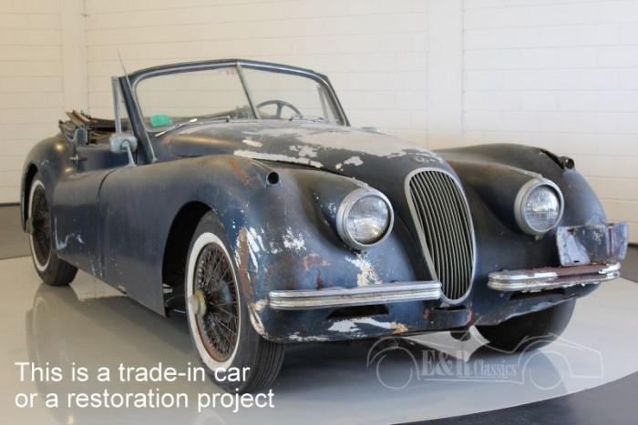 Jaguar XK120 DHC 1954  a vendre