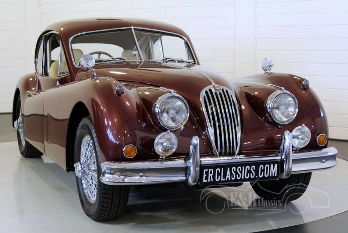 Jaguar XK140 FHC 1956 a vendre
