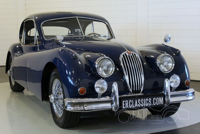 Jaguar XK140 FHC, LHD 1956 a vendre