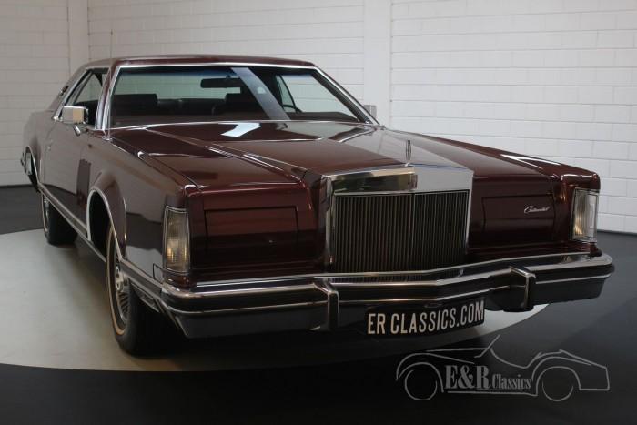 Lincoln Continental Mark V 1978 a vendre