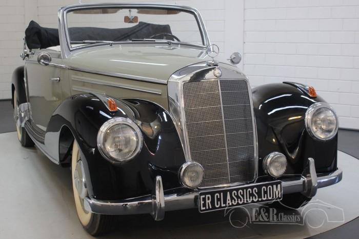 Mercedes-Benz 220A cabriolet 1952 a vendre