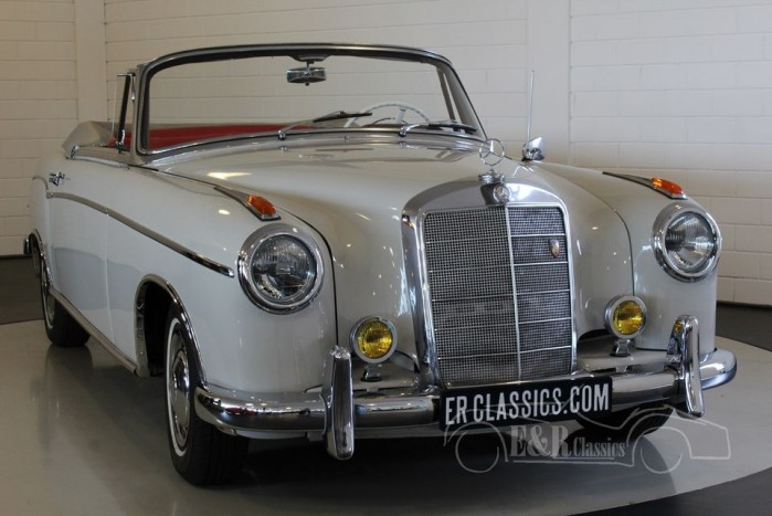 Mercedes Benz 220 S Cabriolet 1957 a vendre