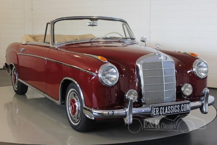 Mercedes-Benz 220S Kabriolett Ponton 1958  a vendre