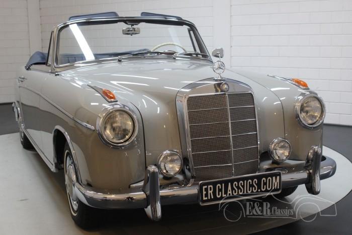 Mercedes-Benz 220 SE Convertible Ponton 1960 a vendre