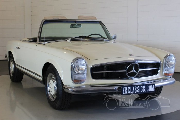mercedes benz 230sl pagode 1966 vendre erclassics. Black Bedroom Furniture Sets. Home Design Ideas
