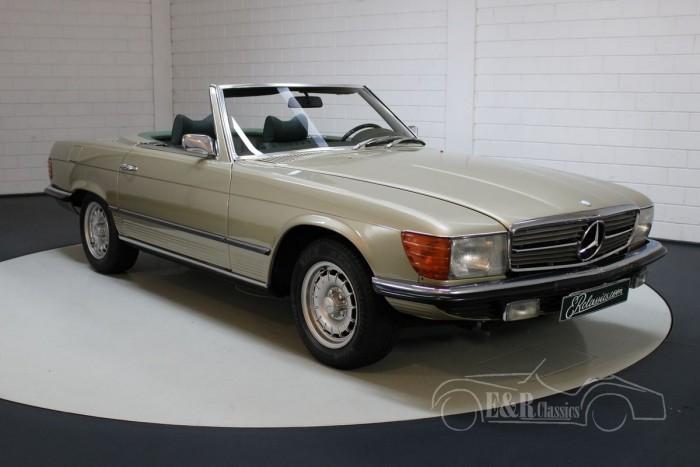 Mercedes-Benz 350SL convertible 1972 a vendre