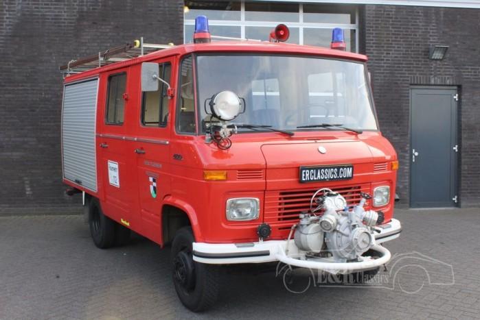 Mercedes-Benz LF 409 Firetruck 1979 a vendre