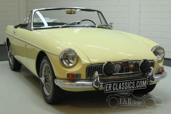 MG B cabriolet 1968  a vendre