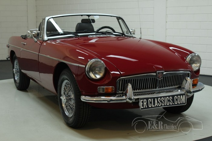 MG B cabriolet 1977  a vendre