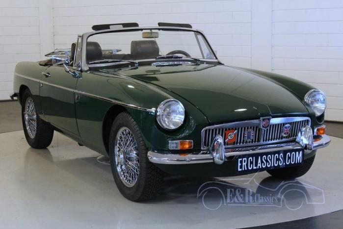 MGB cabriolet 1967 a vendre