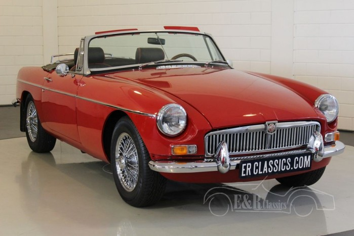 mg mgb cabriolet 1967 vendre erclassics. Black Bedroom Furniture Sets. Home Design Ideas