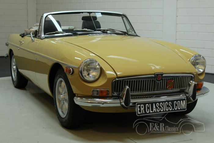 MG B cabriolet 1972  a vendre