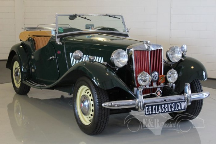 MG TD Roadster 1953 a vendre
