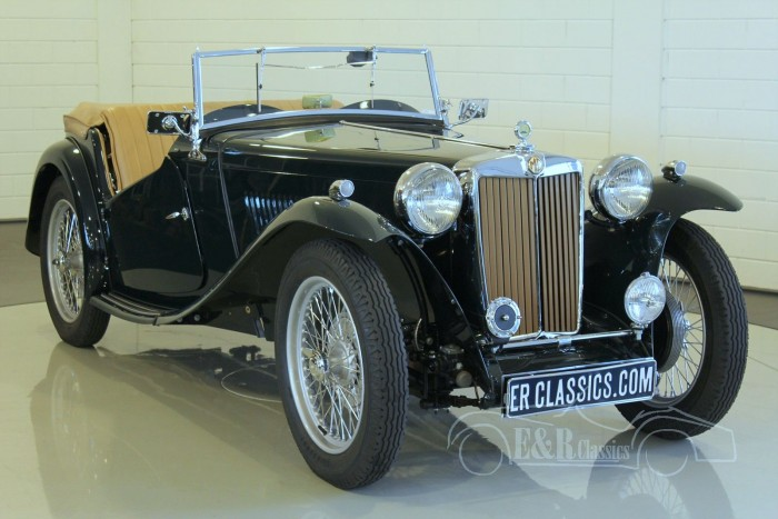 MG TC Roadster 1947 a vendre