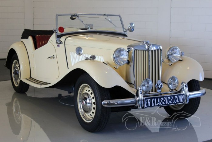 MG TD Cabriolet 1953 a vendre