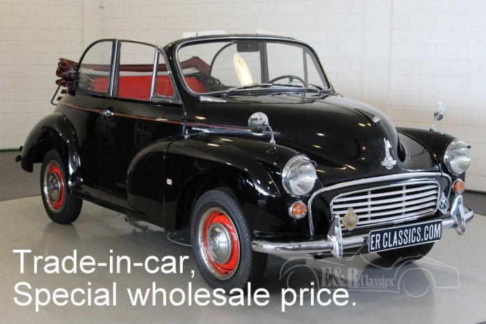 Morris Minor 1000 cabriolet 1960 a vendre