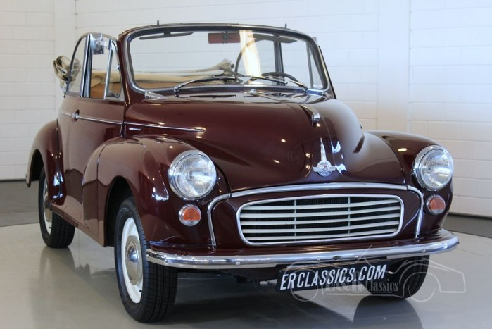 Morris Minor Tourer 1000 Cabriolet 1958 a vendre