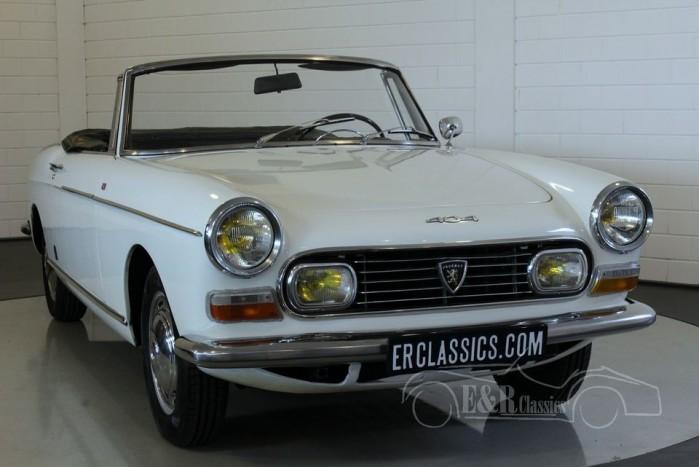 Peugeot 404 Cabriolet 1967 a vendre