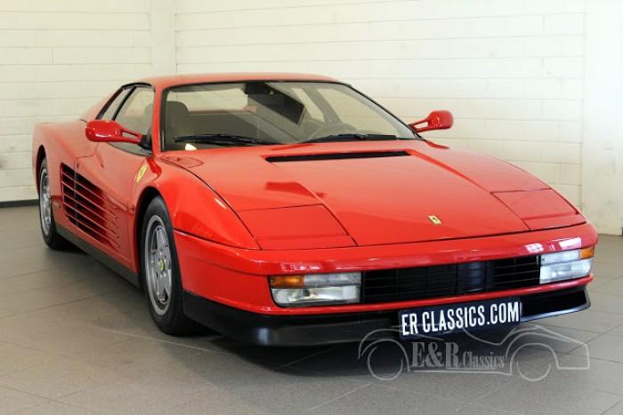 Ferrari Testarossa Coupe 1991 a vendre