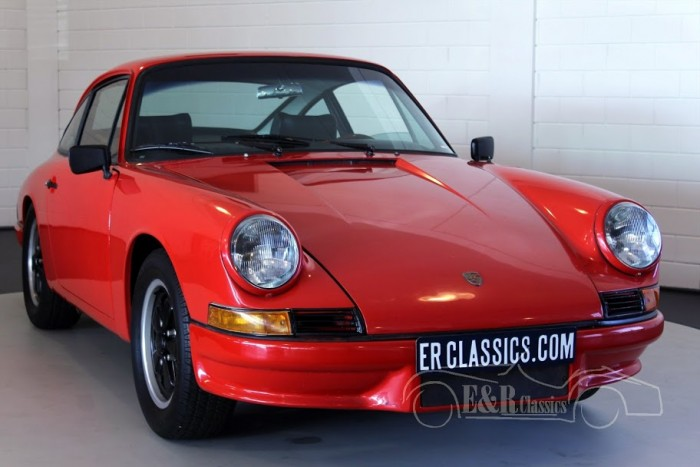 Porsche 911 Coupe 1966 a vendre