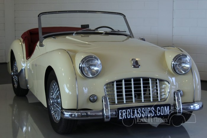 Triumph TR3 Cabriolet 1957 a vendre