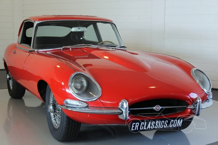 Jaguar E-Type S1 2+2 Coupe 1966 a vendre