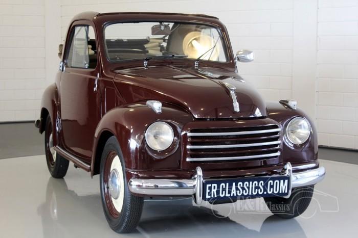 Fiat Topolino 500C Cabriolet 1950 a vendre