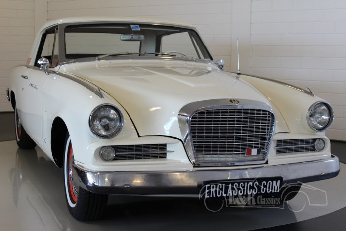 Studebaker Hawk Grand Turismo 1963 a vendre