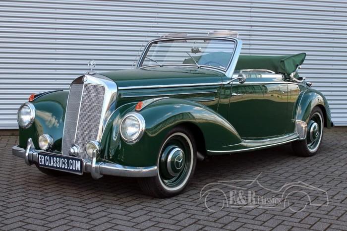 Mercedes Benz 220 A Cabriolet 1952 a vendre