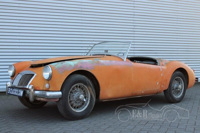 MG MGA Cabriolet 1957 a vendre