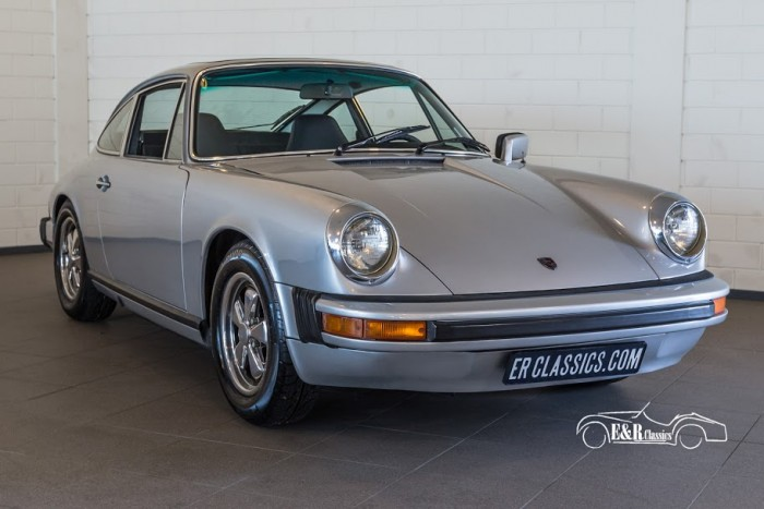 Porsche 911 S Coupe 1975 a vendre