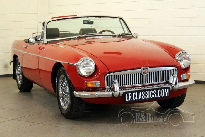MG MGB Cabriolet 1967 a vendre