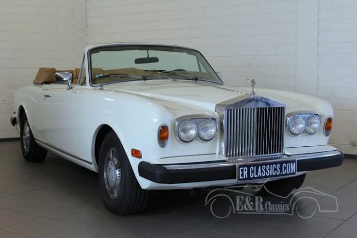 Rolls Royce Corniche Cabriolet 1984 a vendre