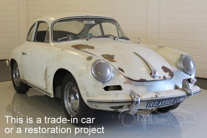 Porsche 356B 1600S coupe 1962  a vendre