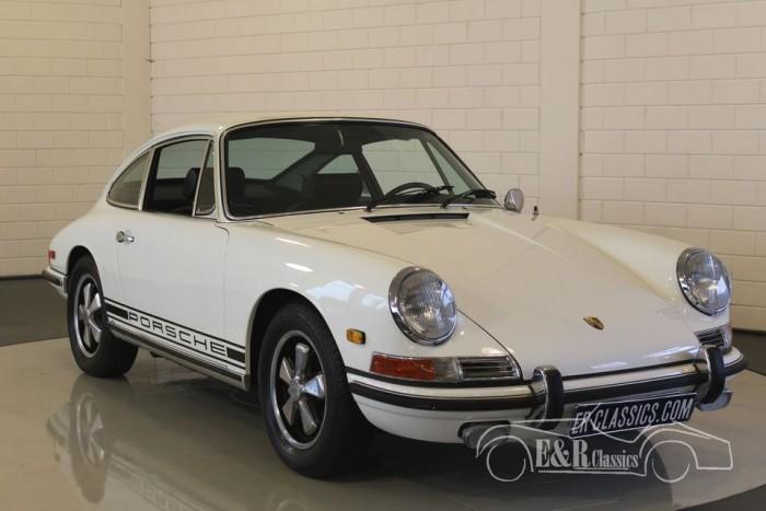 Porsche 911 L coupe White 1968  a vendre