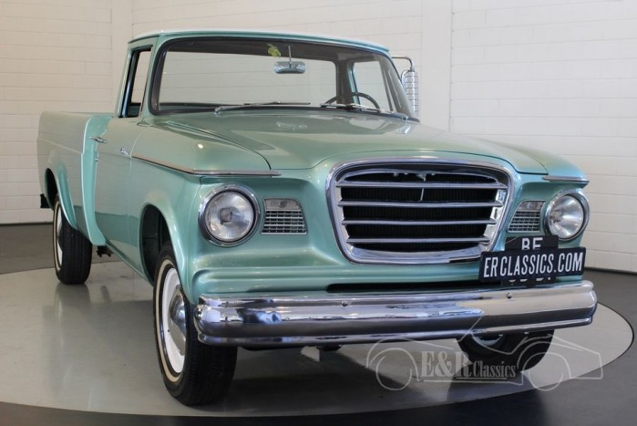 studebaker champ pick up 1963 vendre erclassics. Black Bedroom Furniture Sets. Home Design Ideas