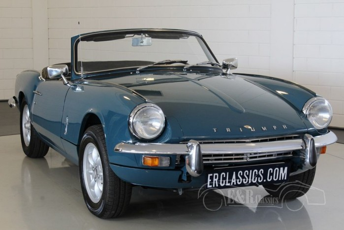 Triumph Spitfire MKIII Cabriolet 1968 a vendre