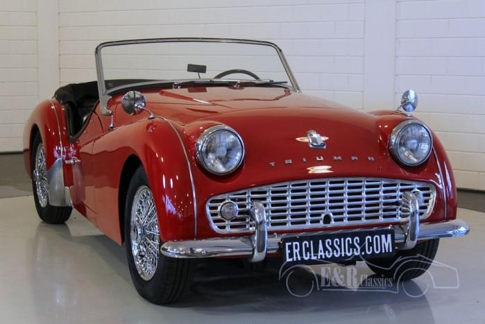 Triumph TR3A Roadster 1960 a vendre