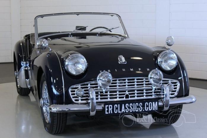Triumph TR3 A Cabriolet 1961 a vendre