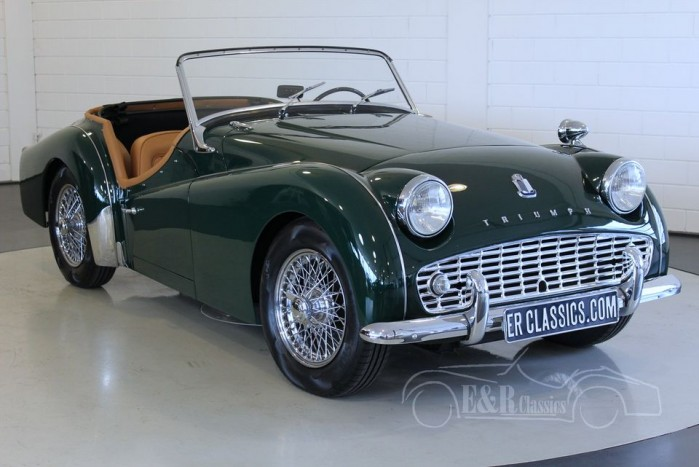 triumph tr3 a 1959 vendre erclassics. Black Bedroom Furniture Sets. Home Design Ideas
