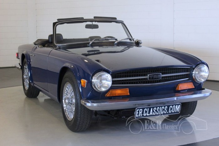 triumph tr6 1973 vendre erclassics. Black Bedroom Furniture Sets. Home Design Ideas
